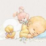 как уложить спать грудного ребёнка