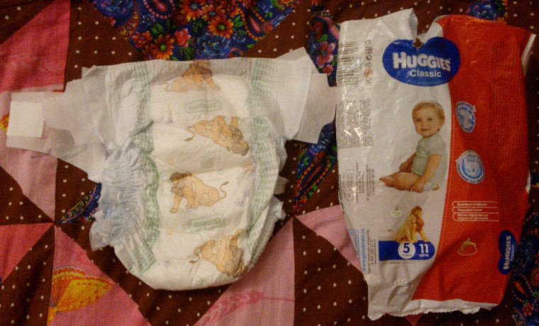 huggies classic   www.u-children.ru