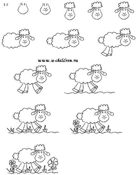 risyem ovechky 2 u-children.ru