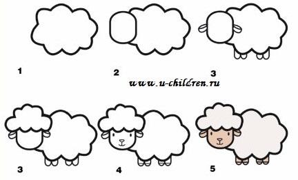 risyem ovechky 3 u-children.ru