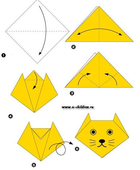 www.u-children.ru kak sdelati origami 2