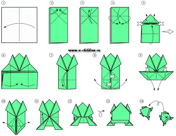 www.u-children.ru kak sdelati origami5