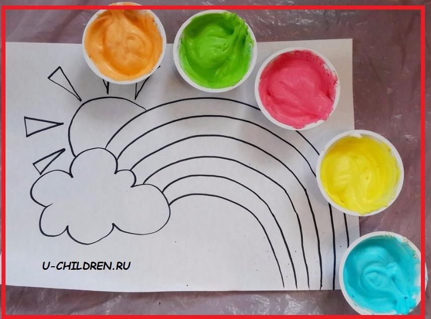 Как сделать объемные краски Сайт для родителей